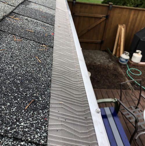 LeafBlaster PRO gutter protection system.